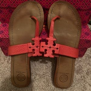 Moore Leather Thong Sandal